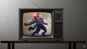 Werewolf edit in Photoshop