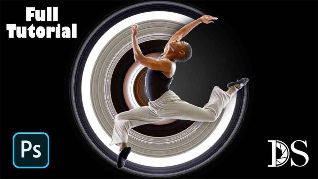 Circular Pixel Stretch Effect in Photoshop