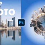 Convert Panorama Image to 360 Polar Image
