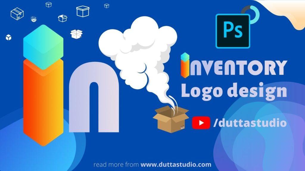 Inventory Management System Logo Design in Photoshop